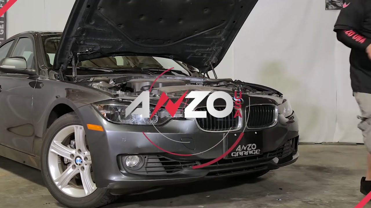 AnzoUSA 2012-2015 BMW 3 Series projector U BAR Headlight ...