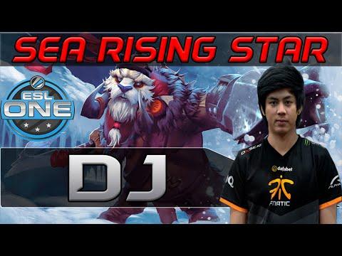 Dota 2 | Fnatic Dj / Chrissy - Tuskar RISING STAR vs XctN @ESL Tournament Gameplay