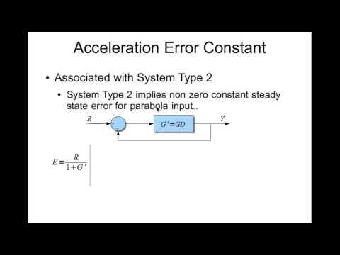 Error Constants