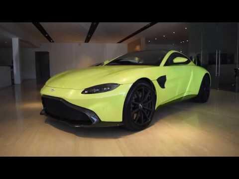 2019 Aston Martin Vantage Quick Look Morrie S Luxury Auto Youtube