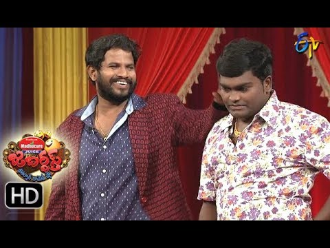 Hyper  Aadi Raijing Raju Performance | Jabardsth | 14th September 2017| ETV  Telugu