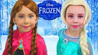 Frozen Elsa And Anna - HOW TO turn into character?