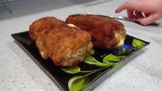 рулет из куриного филе с сыром (быстро, вкусно, просто)