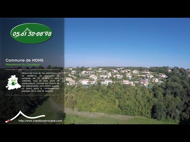 Résidence du Coustous - Création Foncière <br/>1 vol et 1 montage : 800€ ht <br/>