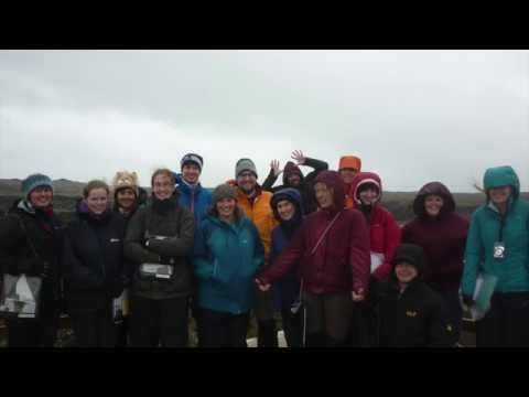 Geology and Geology & Physical Geography field trip to Iceland