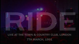 Ride - Live, Town & Country Club, London, 07.03.1991 (Full Concert, HD)