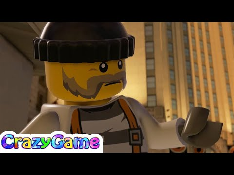#Lego City Undercover 100% Guide #5 Lego City Bank (Red Brick, Police Shield, Etc)