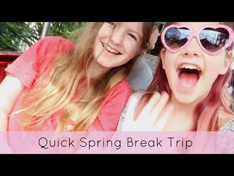 Amusement park & beach | FUN Spring Break PART 1