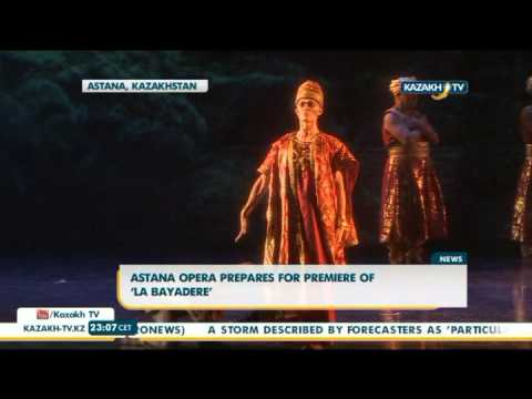 Astana Opera prepares for premiere of 'La Bayadere' - Kazakh TV