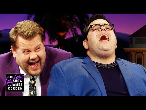 Delana's Dish - Josh Gad does impressions of Idina Menzel and James Corden just can't
