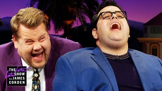 Josh Gad's Idina Menzel Impression Wrecks James Corden