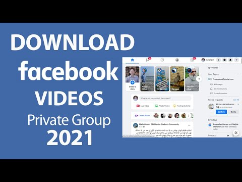 How to Download a Video From a Private Facebook Group 2021
