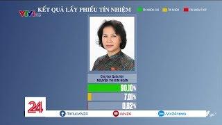 Kết quả lấy phiếu tín nhiệm: Chủ tịch Quốc hội đứng đầu, Bộ trưởng Bộ GDĐT đứng cuối bảng| VTV24