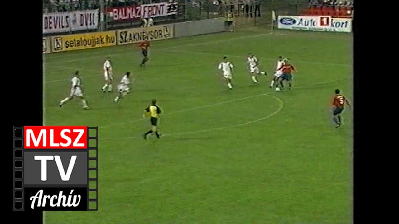 Debrecen-Videoton | 0-1 | 2001. 07. 21 | MLSZ TV Archív