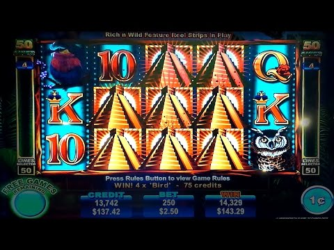 Rich N Wild Slot - NICE SESSION - Retrigger Bonus!