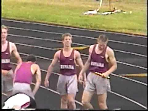 1997 Nevada High School Track and Field 4x400m Relay.
