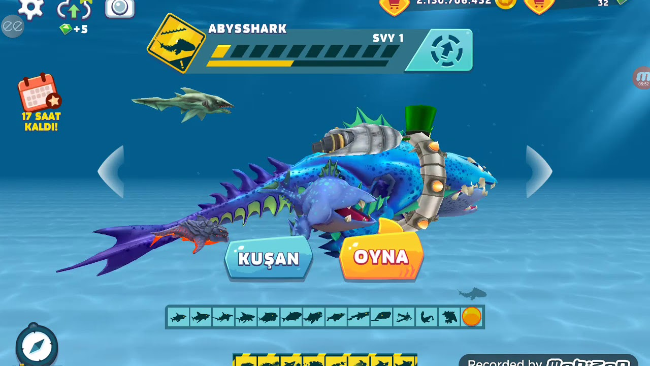 Hileli köpek balığı oyunu part 2