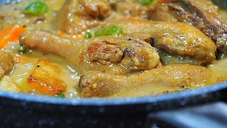 EASIEST &amp THE BEST CREAMY CHICKEN CURRY FILIPINO STYLE