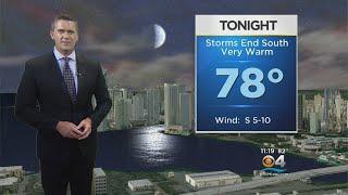 CBSMiami.com Weather @ Your Desk 6-20-18 11PM