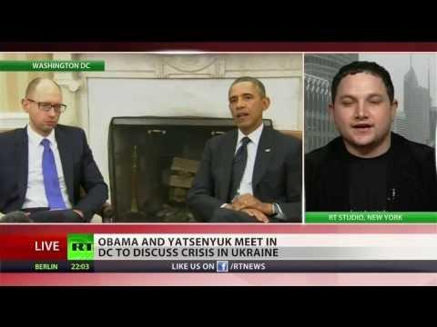 Obama praises Ukrainian coup leader