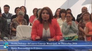 Ceremonia de Juramento y Sesión Solemne Concejo Municipal