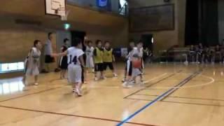 習志野市立大久保小学校男子ミニバスケJr2