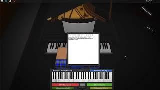 ROBLOX Piano Cover | Undertale | Snowdin Town (GENOCIDE)