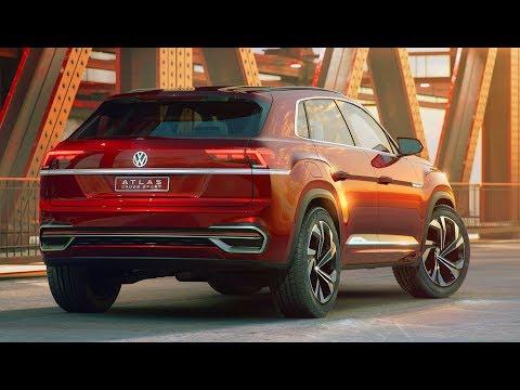 2019 Volkswagen Atlas Cross Sport concept