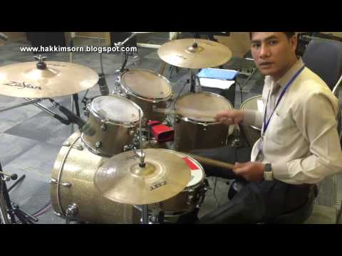 Style Ramvong Saravan ChaChaCha របៀបវាយស្គរប្ដូរចង្វាក់ពីរាំវង់ទៅសារ៉ាវាន់ទៅឆាឆាឆា Drum Technique