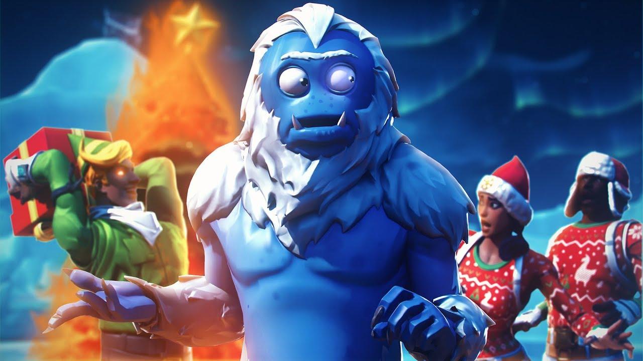 Yeti Ruins Christmas A Fortnite Film Youtube