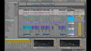 playthrough edx belong style remake with ableton massive