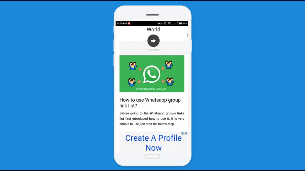 Latest Whatsapp group links - Aug 2017