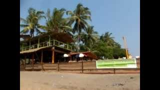 see my GOA BLOG guide - AWESOME ANJUNA BEACH , GOA , INDIA - FEB 2013 .