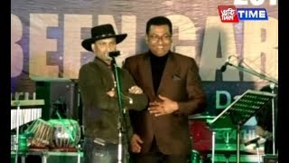 MLA Rupak Sharma played drums with Zubeen Garg in a function at Nagaon