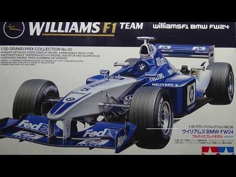 Tamiya F1 Team Williams FW24 Part 4