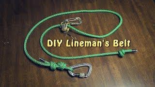 DIY Lineman's Belt for Hunting