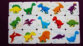 Dinosaur Matching Game for Kids! | K's Toys