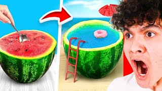 Amazing Watermelon LIFE HACKS *IT WORKS*