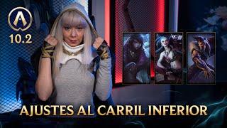 Actualizando LoL 10.2: Ajustes al carril inferior   League of Legends