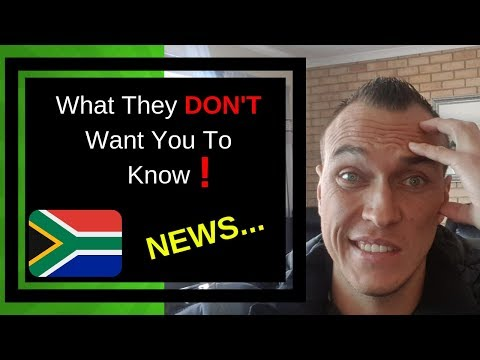 South African News Today: What they DON'T Want you to Know! 😱