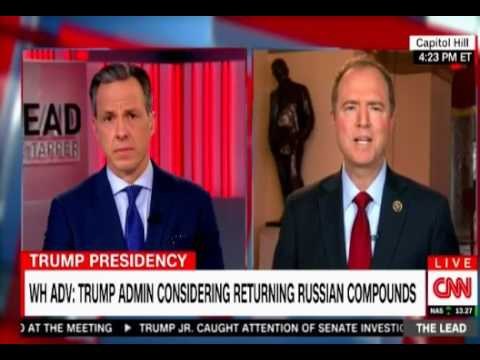 Adam Schiff on Tapper's interview with Gorka and on plans to return compounds to Russia