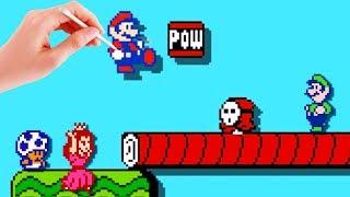 Mario Maker Mario Bros 2 | Mario Bros. 2 in Mario Maker!