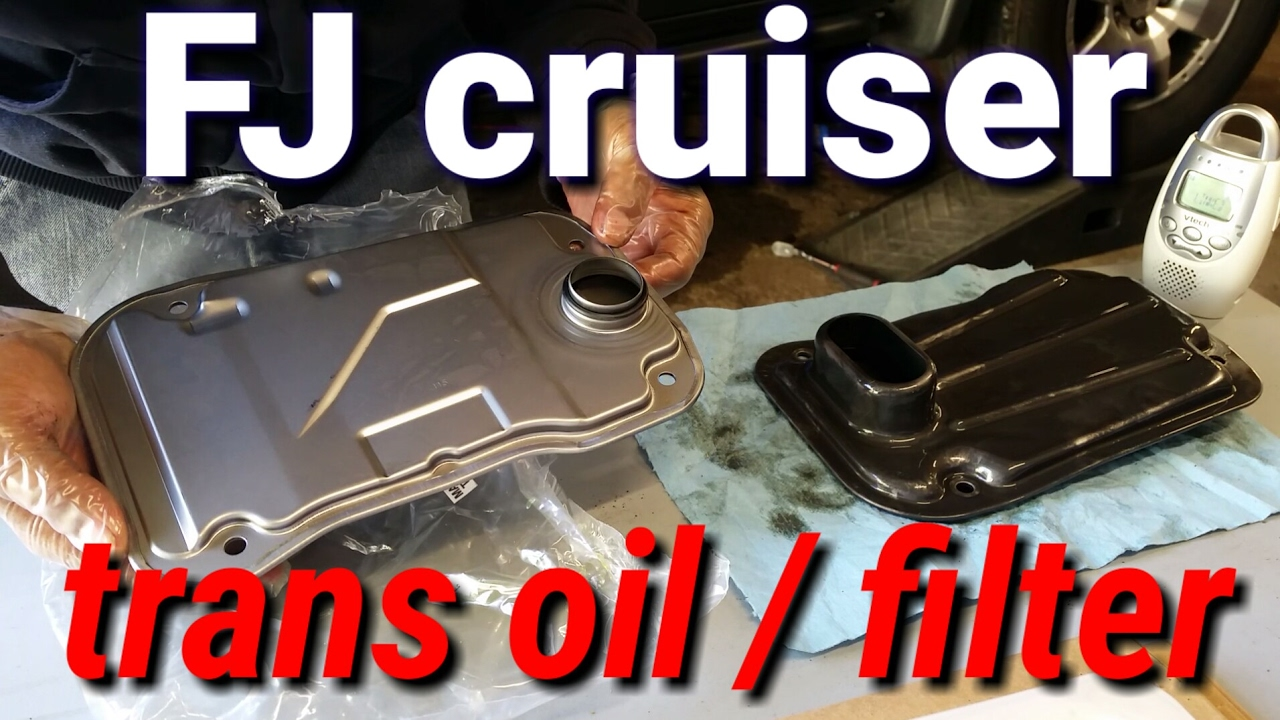 hight resolution of toyota fj cruiser transmission fluid and filter change