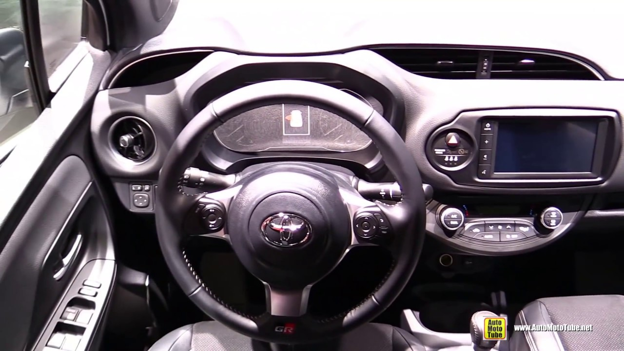 New Yaris S 1500cc Trd Head Unit Grand Avanza Veloz 2019 Toyota Hybrid Gr Sport Exterior Interior Walkaround Debut At 2018 Paris Motor Show