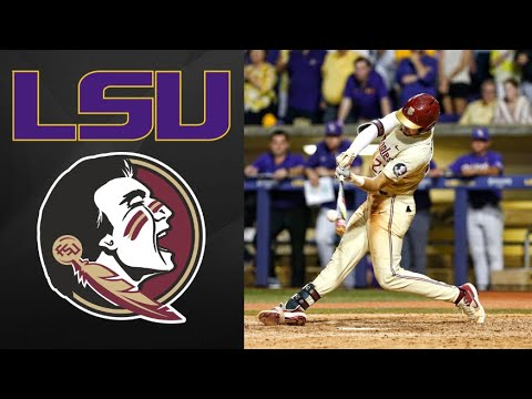 #13 LSU Vs Florida State Super Regional Game 2 | College Baseball Highlights
