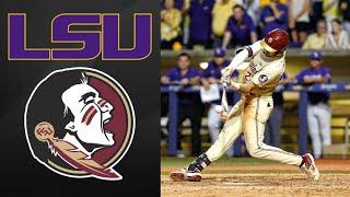 #13 LSU vs Florida State Super Regional Game 2 | College Baseball Highlights
