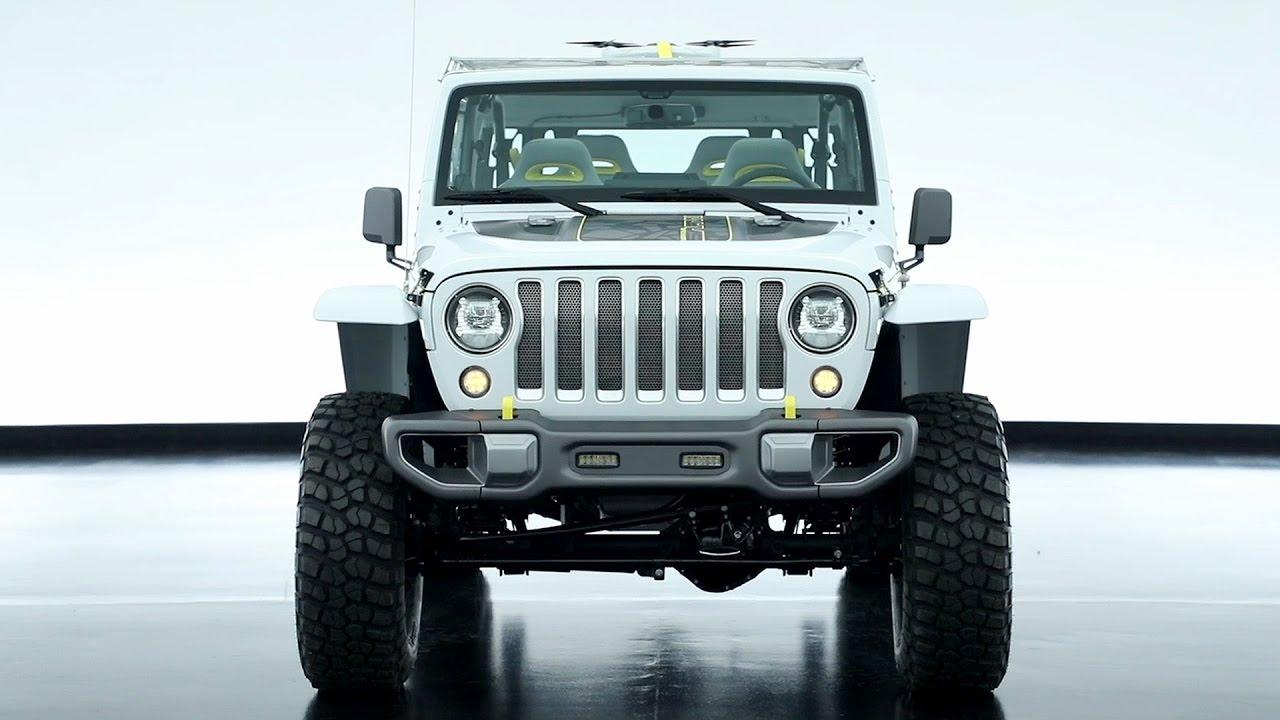 Jeep Safari 2017 Moab Easter Concept