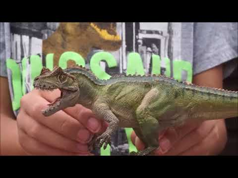 Dinosaur model unboxing number two - Papo, CollectA Deluxe and CollectA