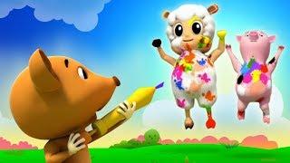 Canção das cores | video musical infantil | Música das Cores | Canções Para Crianças | Colors Song