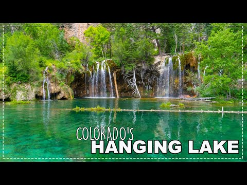 Hanging Lake:  Hard Hike Huge Payoff